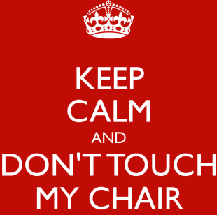 my chair